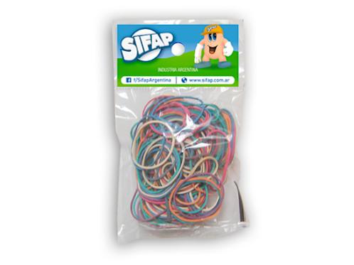 Bandas elasticas color x 100 gr. Sifap
