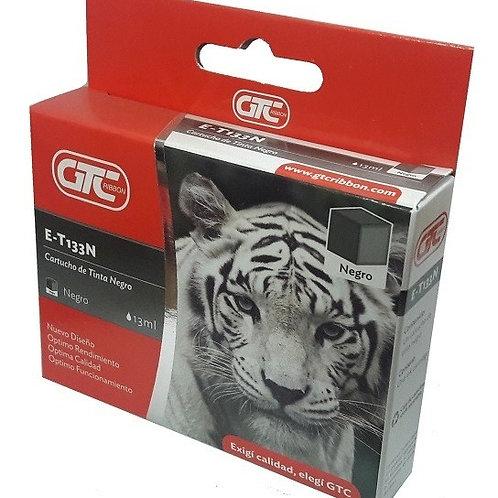 Cartucho GTC T133 XL 11.6 ml para Epson Negro x 1 u.