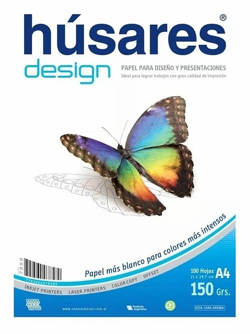 Resma Husares 100 hjs. 150 gr.