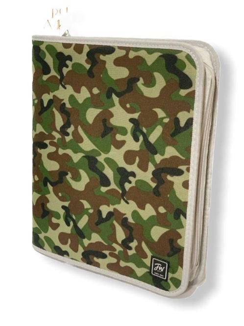 Carpeta c/ cierre FW A4  militar