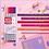 Thumbnail: Microfibra Filgo x 6 u. Pink 0.38