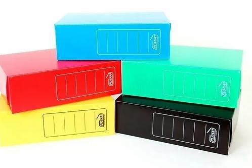 Caja Archivo plástico legajo 12 azul
