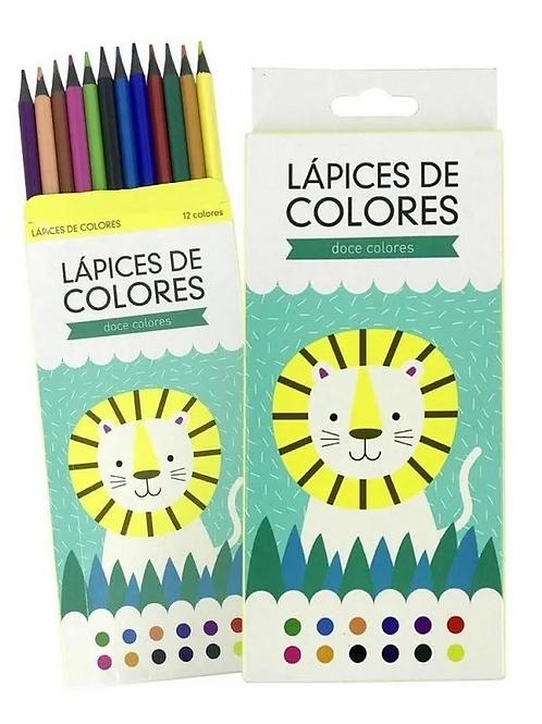 Colores Simball Lion x 12 cortos.