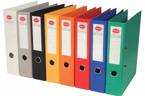 Bibliorato PVC Fw legal/ Oficio lomo ancho x 1 u.