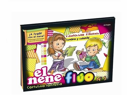 Block El Nene N°5 fantasia fluor 24 hjs
