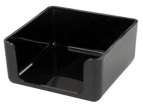 Porta taco 9 x 9 cm. negro Pizzini x 1 u.
