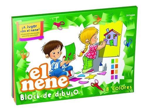 Block El Nene N°6 color 24 hjs.