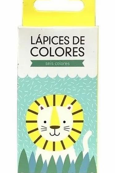Colores Simball Lion x 6 cortos.