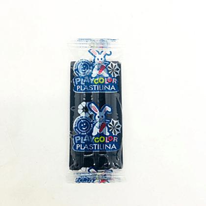 Plastilina Playcolor barra Negro de 200 gr. x 1 u.