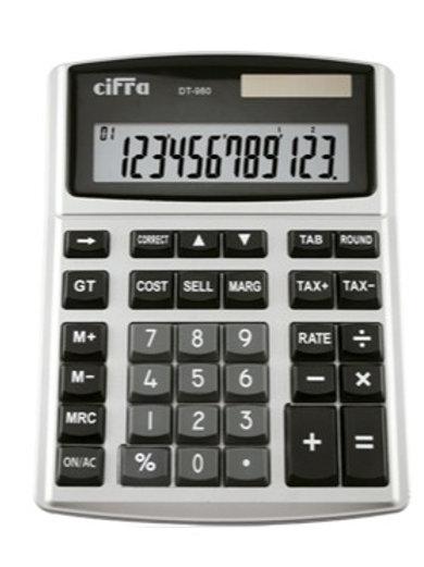 Calculadora Cifra DT-980