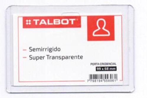 Porta Credencial Talbot SR. 99 X 68 mm. x 1 u.