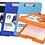 Thumbnail: Portablock Ezco plastico con deposito oficio