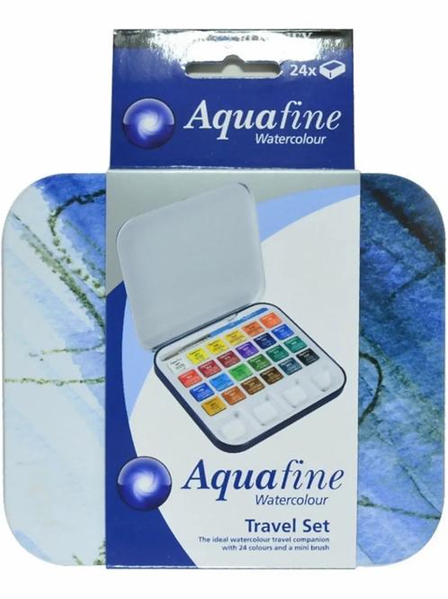Acuarelas Daler Aquafine lata 24 colores