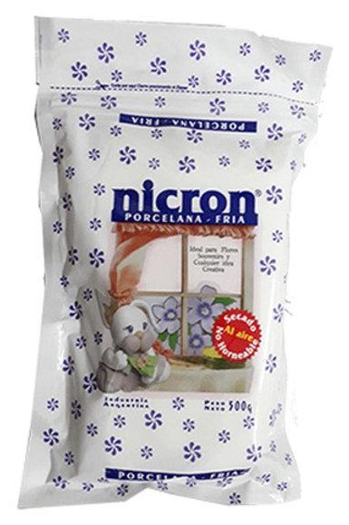 Porcelana en fria 500 gr. Nicron x 1 u.