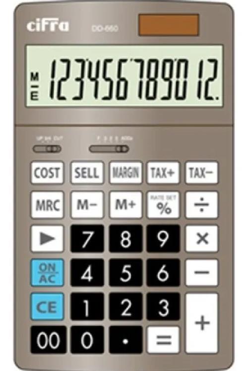 Calculadora Cifra DT-660