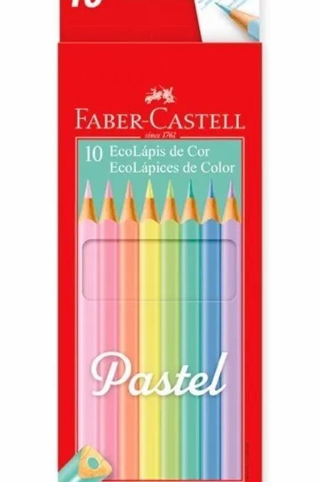 Lapices de Colores Faber Castell 10 pasteles