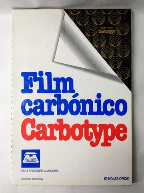 Carbonico Negro Oficio Carbotype x 1 hjs.