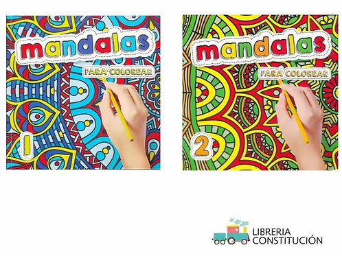 Libro Saldaña para colorear Mandalas x 1 u.  (109)