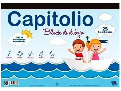 Block dibujo Capitolio blanca N°6 x 25 hojas