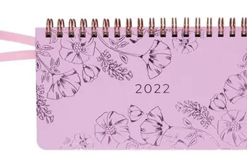 Agenda 2022 Italia Pocket con espiral semana vista