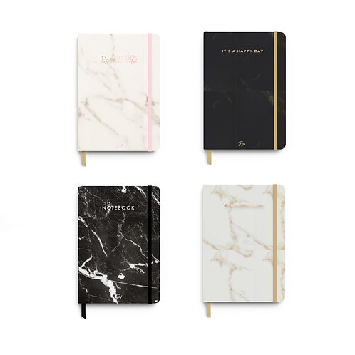 Cuaderno FW A5 bullet journal marble