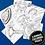 Thumbnail: Marcadores Sharpie ruleta x 30 Galaxy