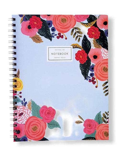 Cuaderno universitario Decorline A4 doble/esp. x 1 u.
