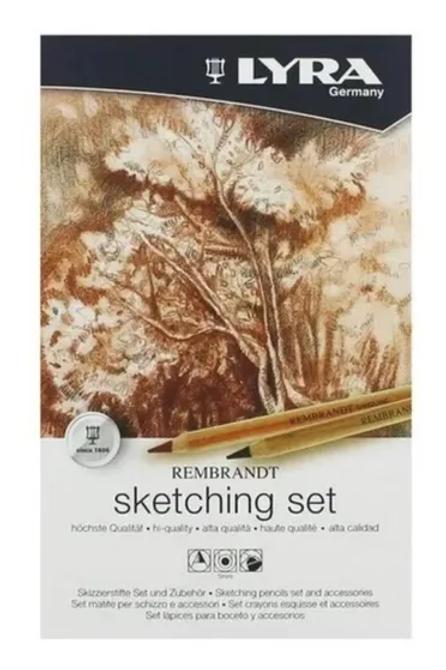 Set Arte Lyra lata Sketching x 11 piezas.