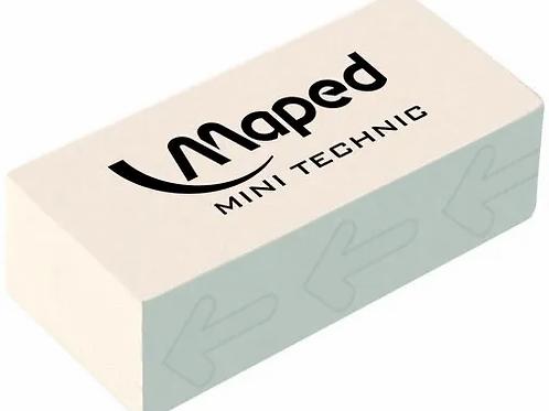 Goma Maped lapiz Technic x 1 u. blanca