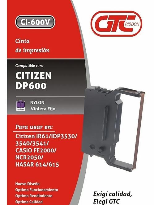 Cinta GTC para Citizen DP 600  nylon