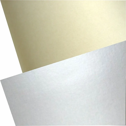 Cartulina Capitolio Oro/Plata metalizado x 1 u.