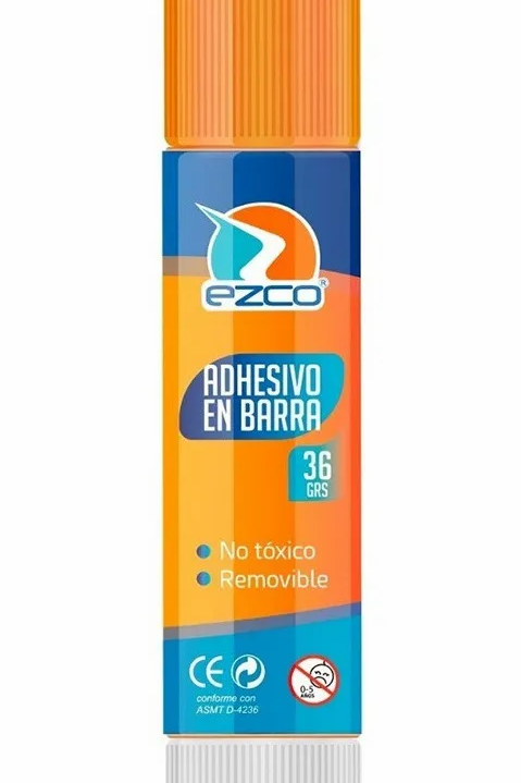 Adhesivo en barra Ezco 36 gr.
