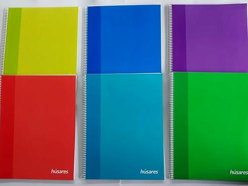 Cuaderno Husares trendy A5  x 80 hjs. c/ esp