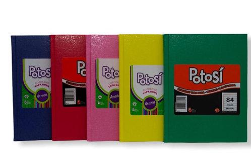 Cuaderno Potosi 84 hjs. tapa dura x 1 u.