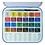 Thumbnail: Acuarelas Daler Aquafine lata 24 colores
