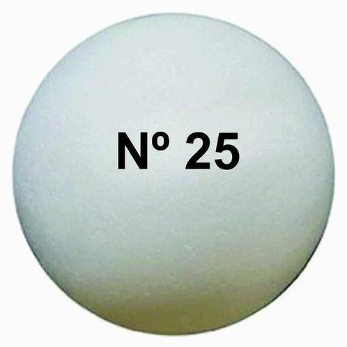 Esfera Telgopor N°25 p/armar x 1 u.
