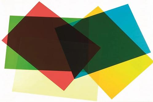 Plancha acetato 50 x 70 cm. Sellf color.