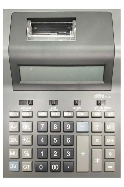 Calculadora Cifra PR-226 electrica