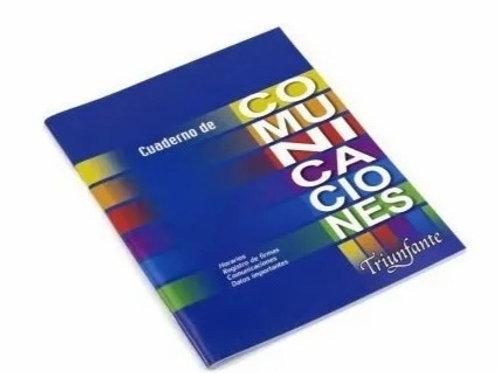Cuaderno Triunfante comunicaciones 24 hjs.