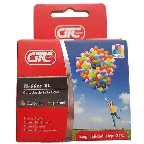 Cartucho GTC HP662 Color XL x 1 u.  11 ML