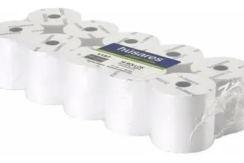 Rollo térmico Húsares 75 mm. x 20 mtrs paquetes x 10 u.