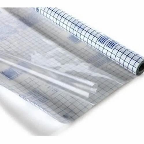 Papel contac transparente x 1 mtr. x 45 cm