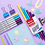 Thumbnail: Marcadores Filgo x 6 u. Galaxy 0.36