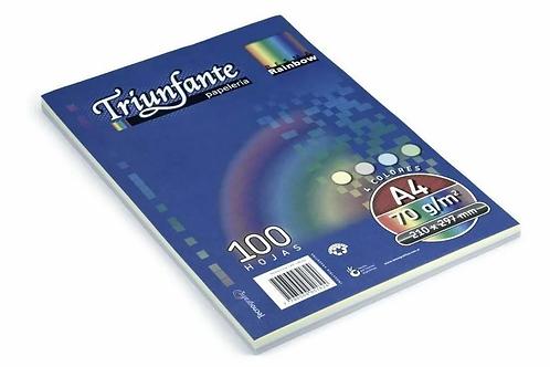 Resma Triunfante color oficio 100 hjas x 1 u.