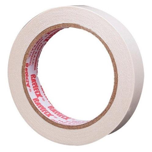 Cinta papel bifaz 18 mm. x 30 mtros. Rapifix