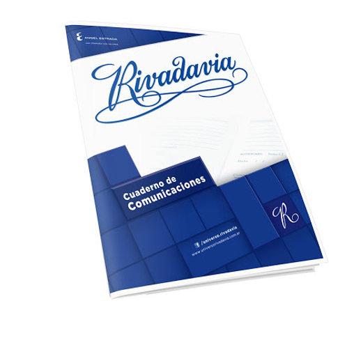 Cuaderno Rivadavia de comunicaciones 20 hjs
