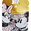 Thumbnail: Maw Mickey& Minnie paper clips 33 mm.