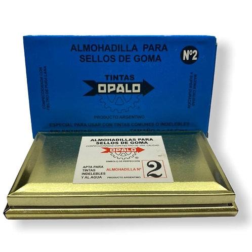 Almohadilla Opalo N°2 para sello.
