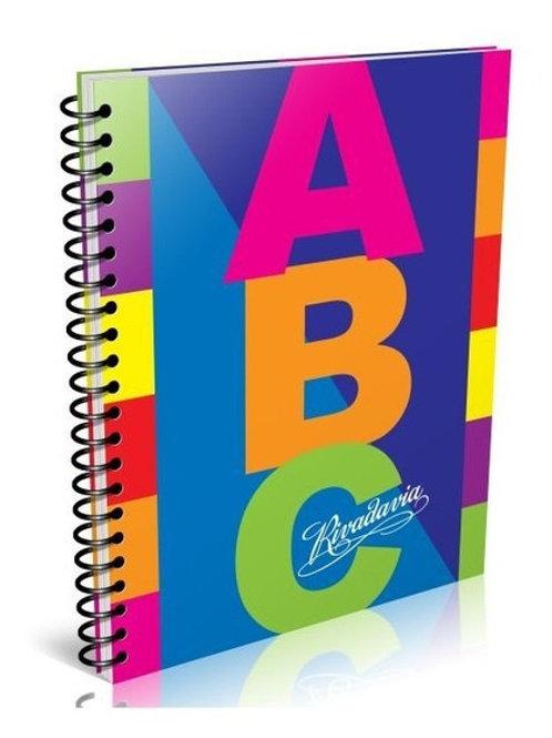 Cuaderno Universitario Rivadavia ABC 21 x 27 cm. 100 hjs. x 1 u.