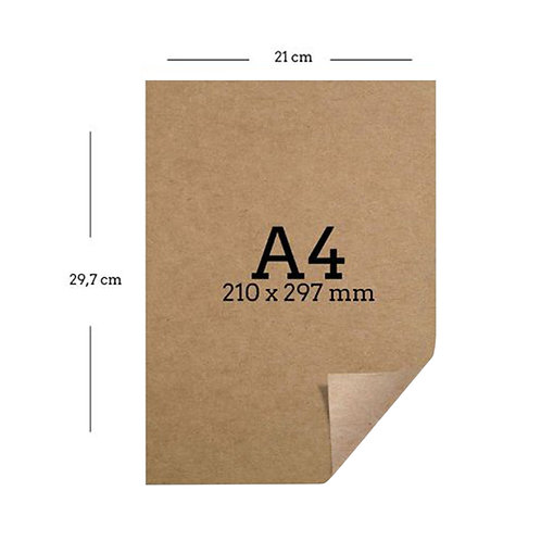 Papel misionero A4 x 40 u.